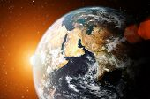stock photo of planet earth  - planet earth - JPG