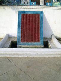 stock photo of muharram  - Water drain at the historic chota imambada of lucknow - JPG