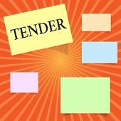 Text Sign Showing Tender. Conceptual Photo Showing Gentleness Kindness And Affection Sensitive To Pa poster