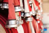 image of firehose  - fire - JPG