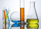 foto of berzelius  - chemical laboratory glassware equipment - JPG