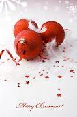 picture of reveillon  - Christmas background - JPG