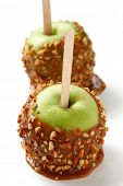 pic of guy fawks  - caramel apple - JPG