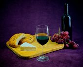The Joy Of Wine, Bread And Cheese