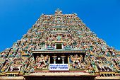 stock photo of meenakshi  - Menakshi Temple - JPG