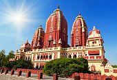 stock photo of laxmi  - Laxmi Narayan temple in New Delhi India - JPG