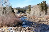 Winter on Florida River in Durango...