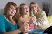 pic of underage  - Teenage Girls Enjoying Drinks - JPG