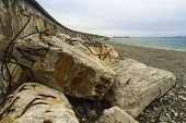 picture of anglesey  - The Victorian Breakwater  - JPG