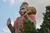 stock photo of hanuman  - Statue of indian god Hanuman or Anjaneya - JPG