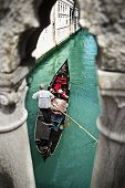 picture of gondolier  - Photo - JPG