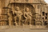 image of grotto  - The Guardian of Longmen Grottoes - JPG