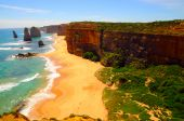 pic of 12 apostles  - a view of twelve apostles in victoria - JPG
