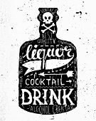 picture of concrete  - Vintage Bottle Label Design - JPG