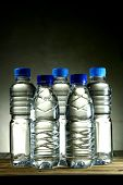 stock photo of h20  - Photo of bottled drinking water on a pet or plastic bottle - JPG