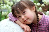 picture of playgroup  - Portrait of the beautiful young girl  - JPG