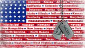 pic of thank you  - Thank you message on military dog tags with flag illustrated background - JPG
