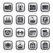 pic of elevator icon  - Hotel Amenities Services Icons  - JPG