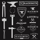picture of blacksmith shop  - Logo for blacksmith - JPG