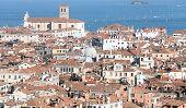 foto of overpopulation  - Venice Italy red - JPG