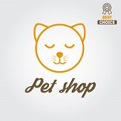 picture of veterinary clinic  - Logo for pet shop or veterinary clinic - JPG