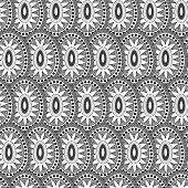 pic of grayscale  - Tile with the image of the sun in grayscale colors - JPG