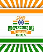 image of indian independence day  - Creative Indian Independence Day concept - JPG