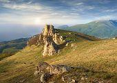 Постер, плакат: Summer Landscape Of The Southern Crimea Russia