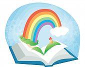 Постер, плакат: Чтение книги вместе