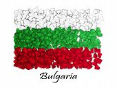 Постер, плакат: Love Bulgaria Flag Heart Glossy With Love From Bulgaria Made In Bulgaria Bulgaria National Indep