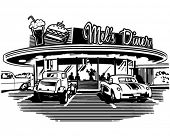 picture of diners  - Retro Diner  - JPG