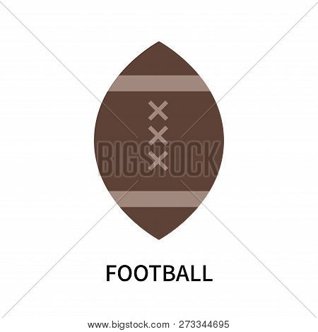 Football Icon Isolated On White