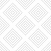 Vector Geometric Seamless Pattern With Squares, Rhombuses, Grid, Lattice. Abstract White And Gray Gr poster