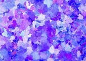 Blue And Purple  Abstract For Background And Texture,colorful Abstract.blue And Purple Oil Painting  poster
