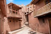 pic of zoroaster  - Ancient building in zoroastrian village Abyaneh - JPG