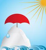 Постер, плакат: Глобальное потепление