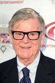 LOS ANGELES - SEP 29:  Earl Hamner Jr. arrives at the 40th Anniversary of