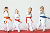 picture of martial arts girl  - Protection of self - JPG