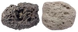 stock photo of scoria  - Highly vesicular volcanic rocks scoria  - JPG