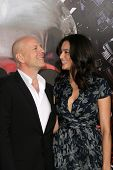 Bruce Willis and Wife Emma at the
