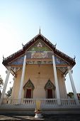 stock photo of chums  - Temple of Wat Phra That Nakhon Chum. Kamphaeng Phet is measured with a long history. Taken at Kamphaeng Phet, Thailand ** Note: Soft Focus at 100%, best at smaller sizes - JPG