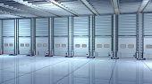 picture of loading dock  - Computer rendered illustration of the Docking Station - JPG