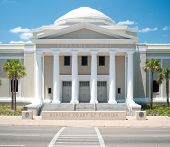 pic of supreme court  - The Supreme Court of Florida building located in Tallahassee - JPG