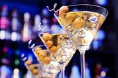 Постер, плакат: Cocktails Collection Martini