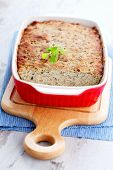 image of poultry  - homemade poultry pate with mushroom  - JPG