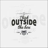 image of thinking outside box  - Think outside the box - JPG