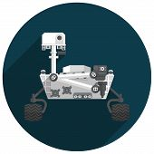 Постер, плакат: Mars Rover