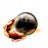 picture of bowling ball  - Dynamic Bowling Ball - JPG