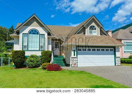 Suburban House In British Columbia