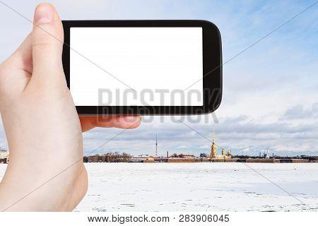 Travel Concept Tourist Photographs Of